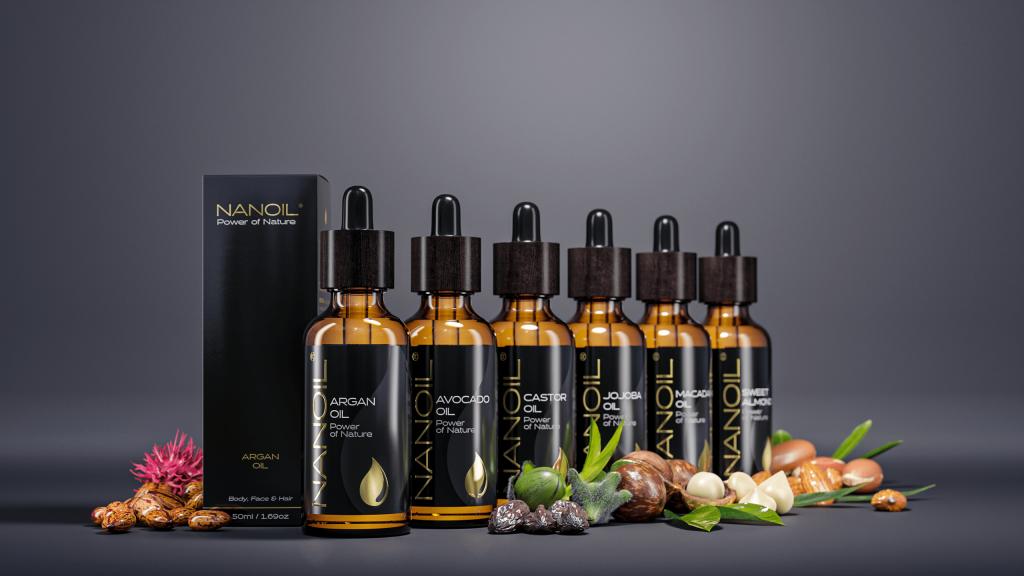 Nanoil Öle für Haut und Haare
