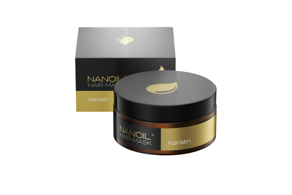 Besser als Haaröle: Nanoil Haarmaske mit Keratin